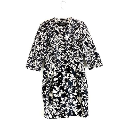 MaxMara Printed Puff Sleeve Evening Jacket- Front