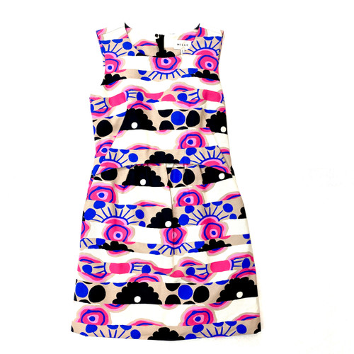 Milly Graphic Print Party Dress- Front