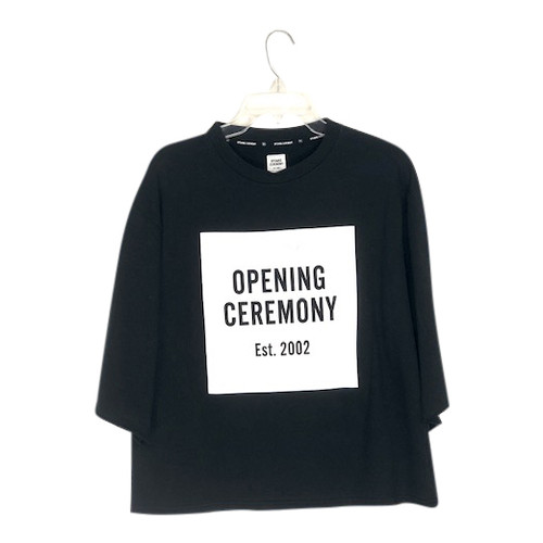 Opening Ceremony Half- Sleeve Sweatshirt- Front