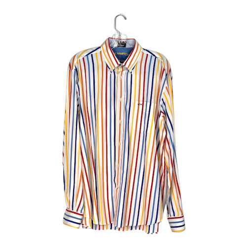 Paul & Shark Striped Button Down Shirt- Front