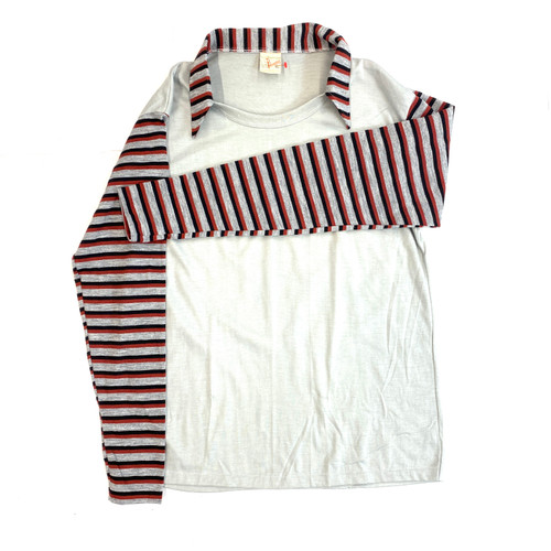 Vintage Striped Rugby Shirt- Front