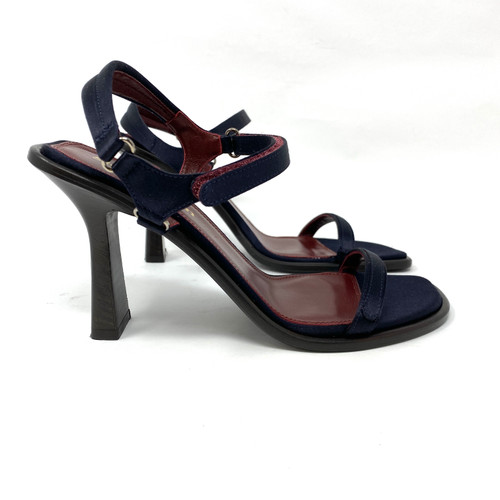 Sies Marjan Lela Satin Sandal- Right
