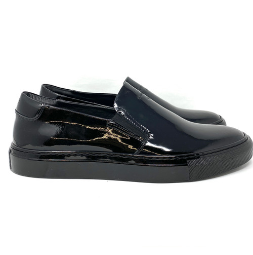 Onto Barbee Patent Leather Slip On Sneaker- Right