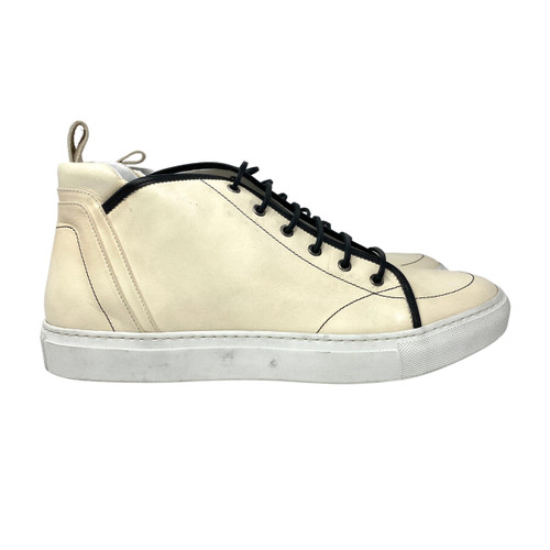 Onto Kes Panna Hightop Leather Sneakers- Right