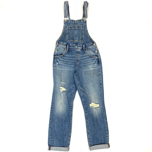 Silver Jeans Co. Straight Leg Overalls- Front