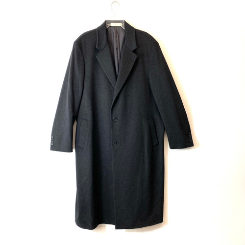 John W. Nordstrom Wool Cashmere Overcoat- Front