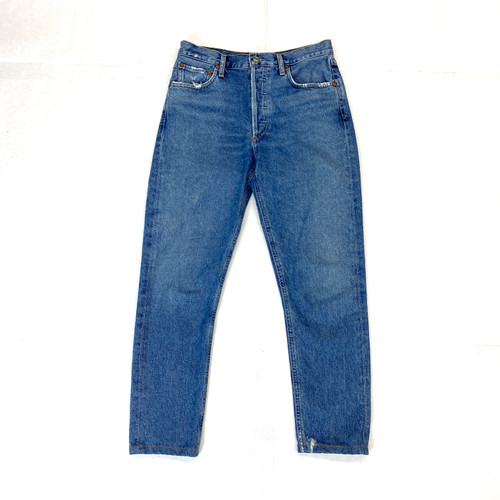 AGOLDE Jamie Passenger High Waisted Skinny Jeans- Front