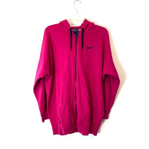 Nike Swoosh Club Full Zip Hoodie- Front
