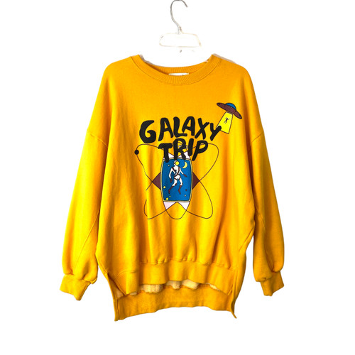 Galaxy Trip Crew Neck Sweatshirt- Front
