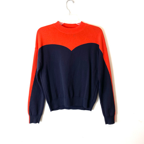 & Other Stories Color Block Sweater- Front