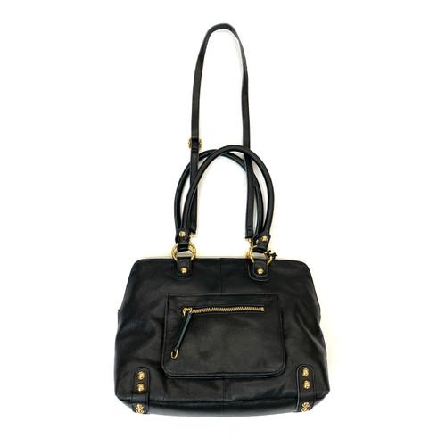 LP Linea Pelle Double Handle Shoulder Bag- Thumbnail