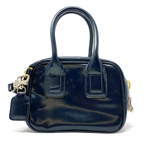Bill Blass Contrast Zipper Mini Bag- Thumbnail