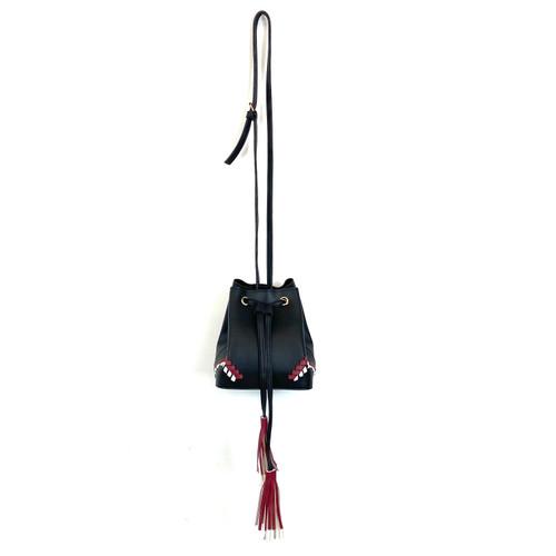 Tassel Drawstring Bucket Bag- Thumbnail
