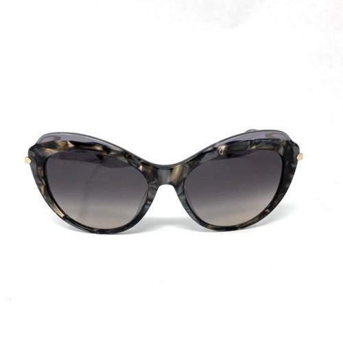 Longchamp Marbelized Gray Sunglasses- Thumbnail