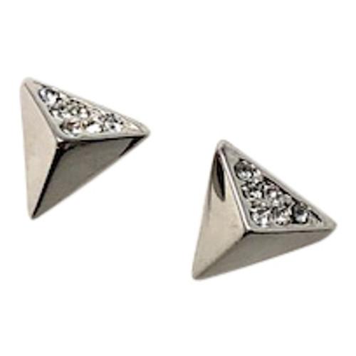 Karen Millen Arrow Stud Earrings-Side