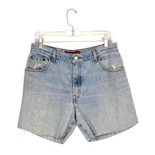 Levi's 550 Cut Off Shorts- Front