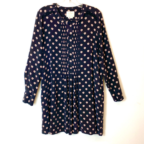 Kate Spade Ditzy Floral Print Swing Dress- Front