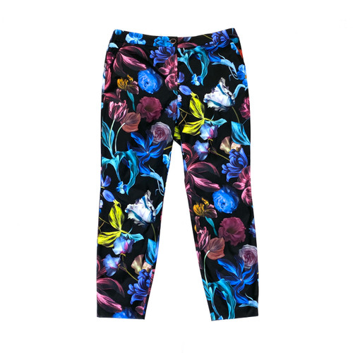 Ted Baker Floral Polyester Pants- Front