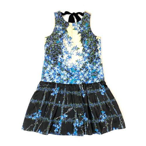 Tibi Floral Sleeveless Swing Dress- Front