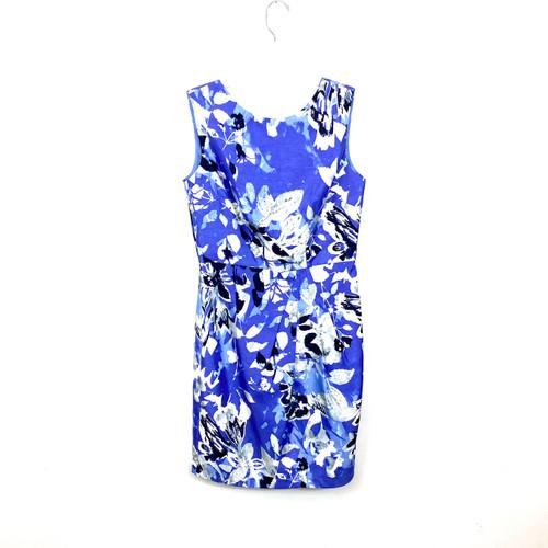 Ellen Tracy Modern Floral Dress- Front