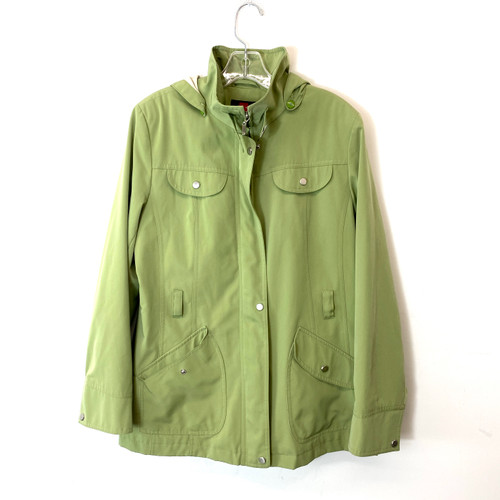 Gallery Hooded Utility Jacket- Front