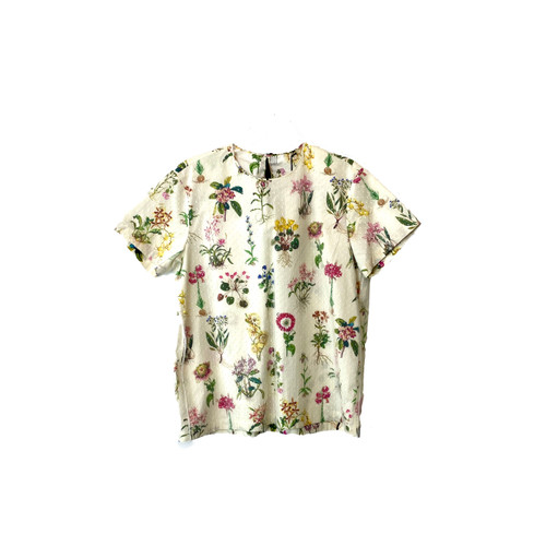 Gilmar No. 21 Donna Floral Blouse- Front