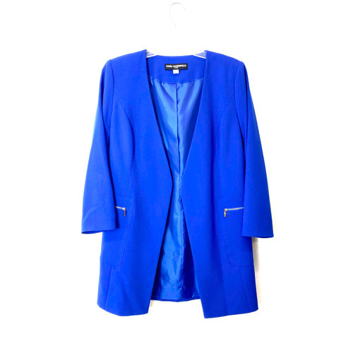 Karl Lagerfeld Paris Flyaway Topper Jacket - Thumbnail