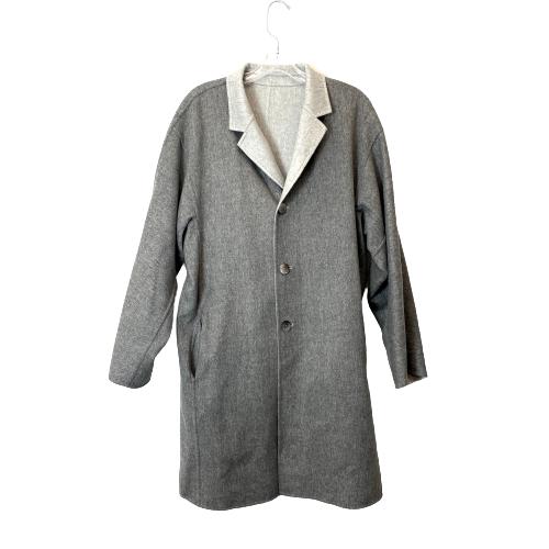 Lafayette 148 Cullen Reversible Wool Blend Coat - Thumbnail