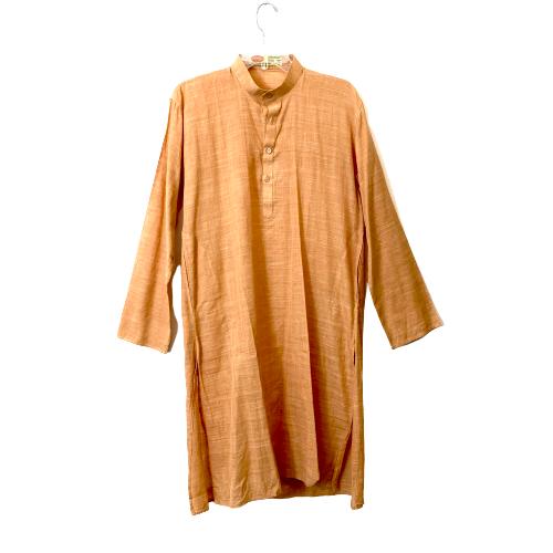 Khadi Gramodyog Bhavan Cotton Silk Tunic - Thumbnail