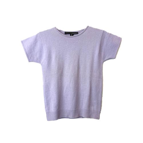 Linda Allard Ellen Tracy Short Sleeve Cashmere Shirt - Thumbnail