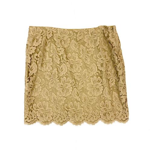 Ralph Lauren Lace Pattern Mini Skirt - Thumbnail