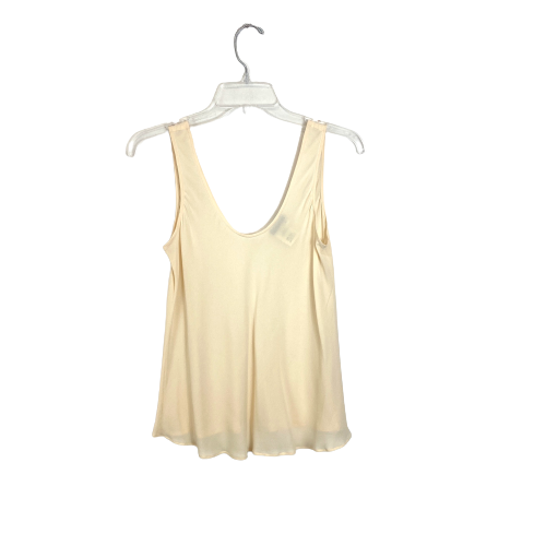 Giorgio Armani Silk Sleeveless Blouse - Thumbnail