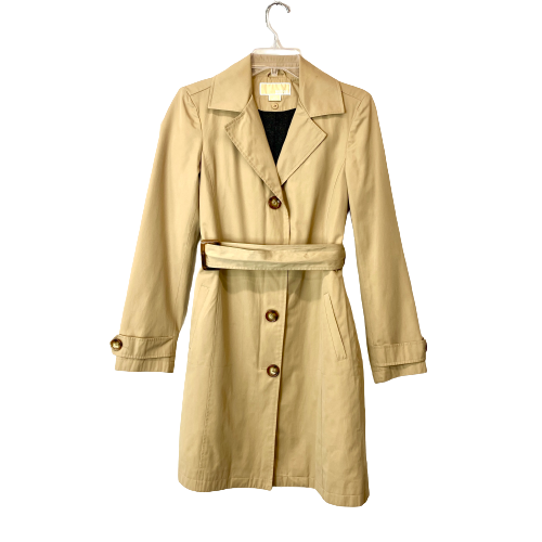 Michael by Michael Kors Belted Trench Coat - Thumbnail