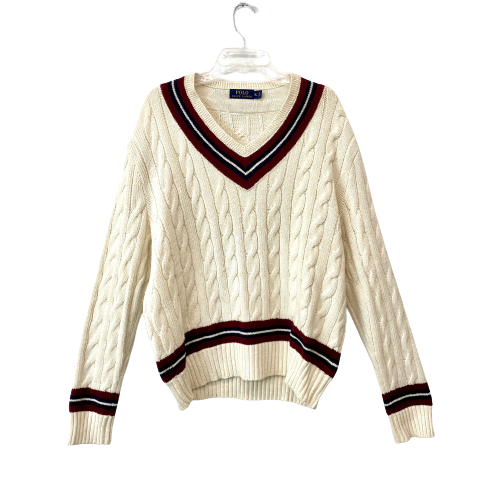 Polo Ralph Lauren Cable Knit Cricket Sweater - Thumbnail