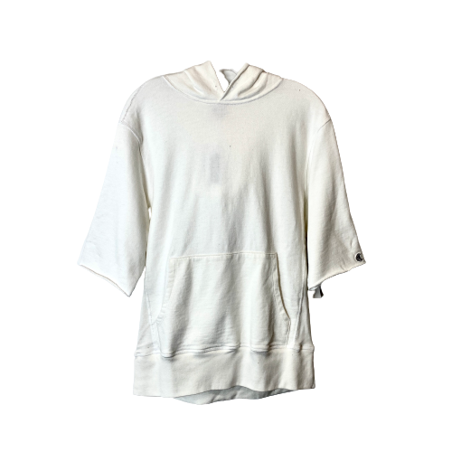 Todd Snyder + Champion Cut Off Short Sleeve Hoodie - Thumbnail
