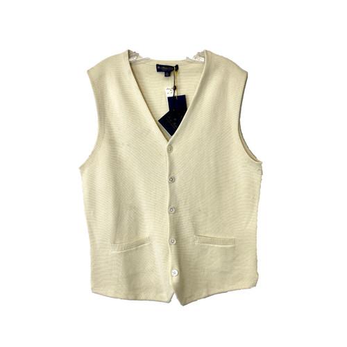 Brooks Brothers Supima Cotton Sweater Waistcoat - Thumbnail