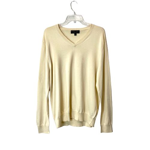 Brooks Brothers Supima Cotton V-Neck Sweater - Thumbnail