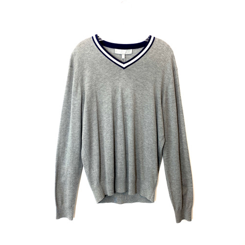 Neiman Marcus Cashmere V-Neck Sweater - Thumbnail