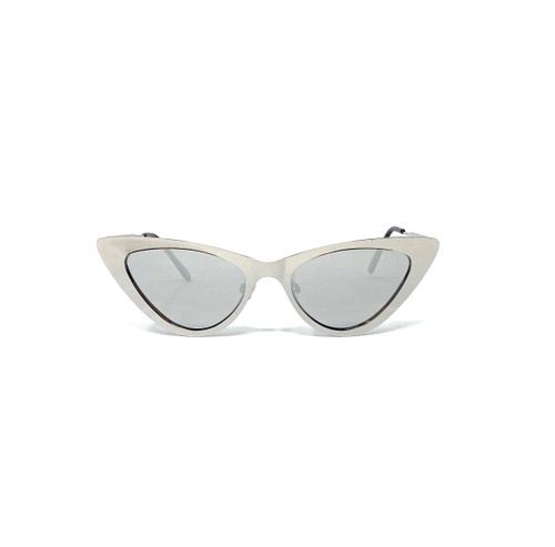 Cat Eye Mirror Sunglasses - Thumbnail