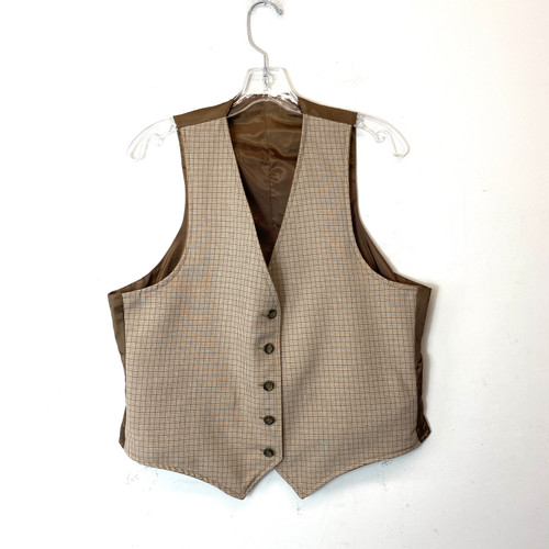 Vintage Reversible Waistcoat- Front