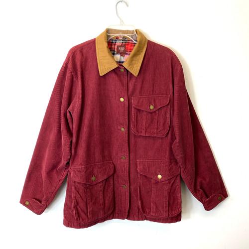 Vintage Northern Style Corduroy Barn Jacket- Front