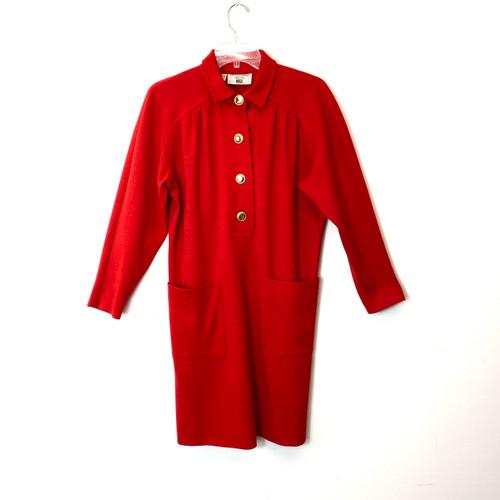 Vintage Giavannozzi Knit 60's Dress- Front