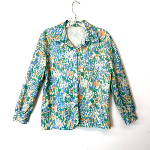 Vintage Fresh Cut Spring Button Down- Front