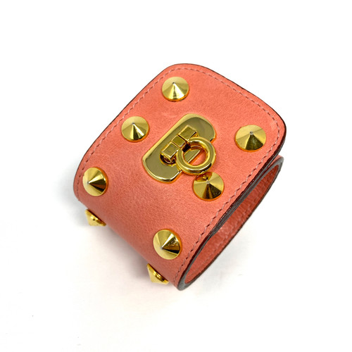 Studed Leather Cuff- Thumbnail