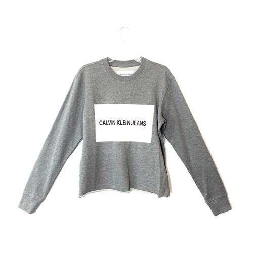 Calvin Klein Jeans Box Logo Long Sleeve Shirt- Front