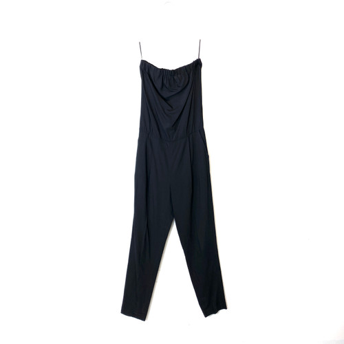 Theory Strapless City Jumpsuit- Front