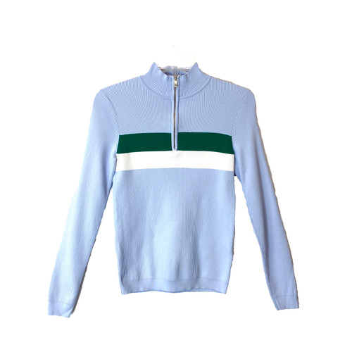 Tommy Hilfiger Retro Quarter Zip Sweater- Front