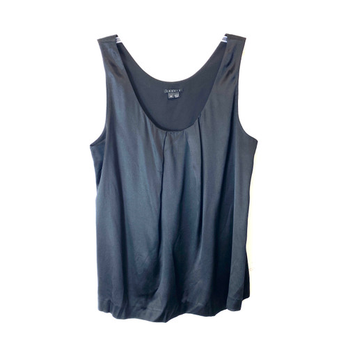 Theory Stretch Silk Tank Top- Front