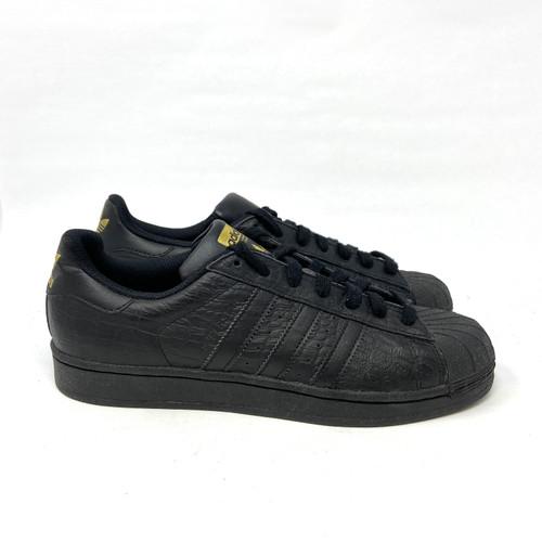 adidas Originals Superstar in Embossed Croc- Right