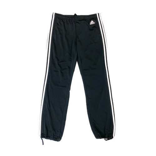 adidas Drawstring Ankle Track Pants- Front